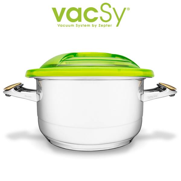 Vacsy Lexi vacuumdeksel – 24 cm diameter