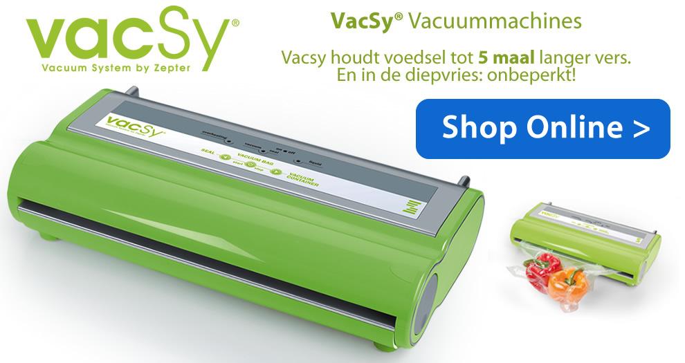 Vacsy Vacuummachine Zepter Prijs