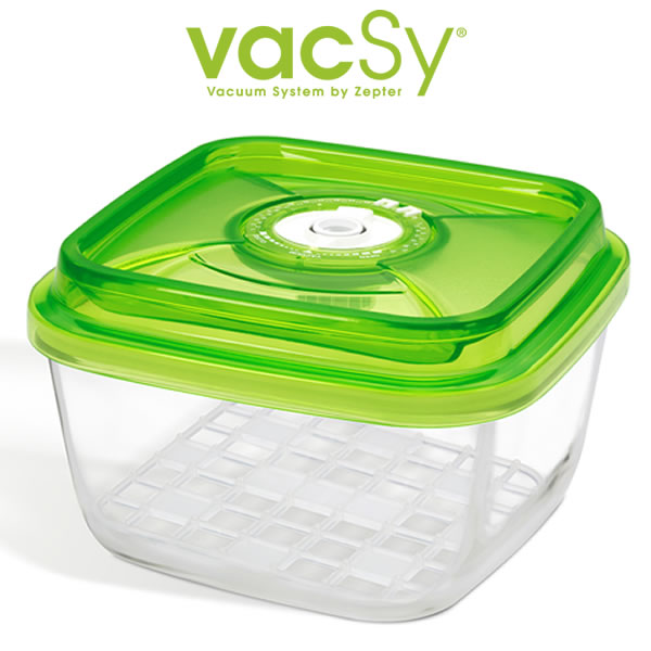 Vacsy glas container 19 x 19 2 2 liter