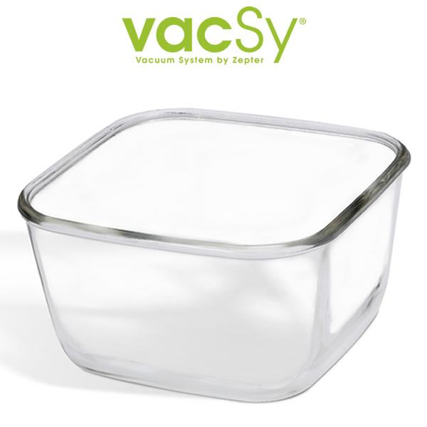 Vacsy glas container 19x19