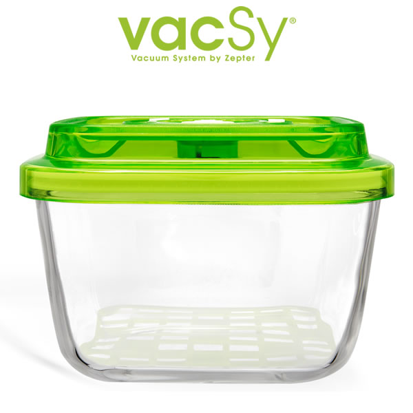 Vacsy glass container 19 x 19