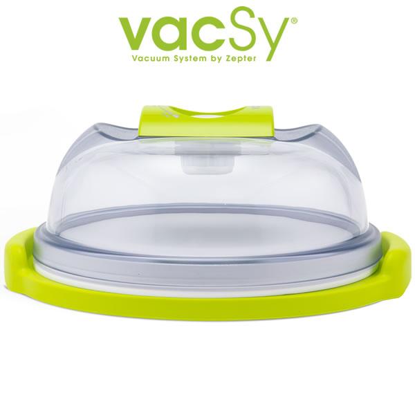 Vacsy kaas stolp | cake vacuum bewaardoos – 19 cm diameter