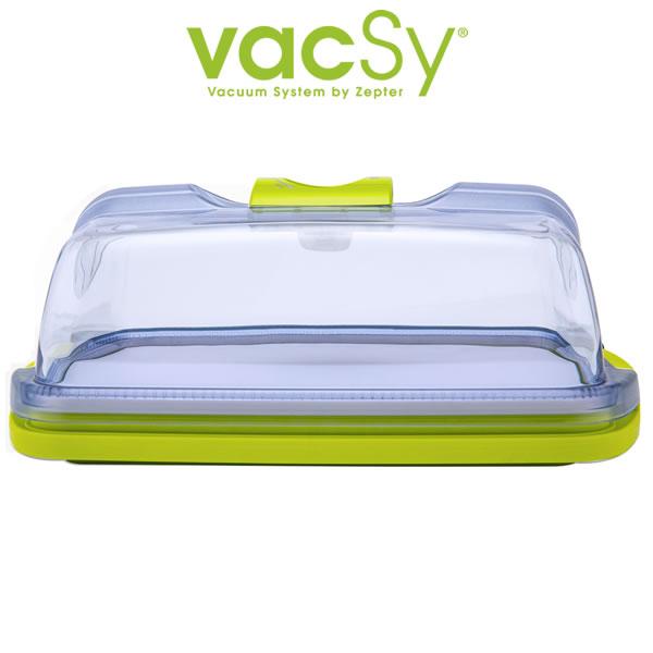 Vacsy kaasstolp | cake vacuum bewaardoos – 30 cm x 22 cm 5 2 liter