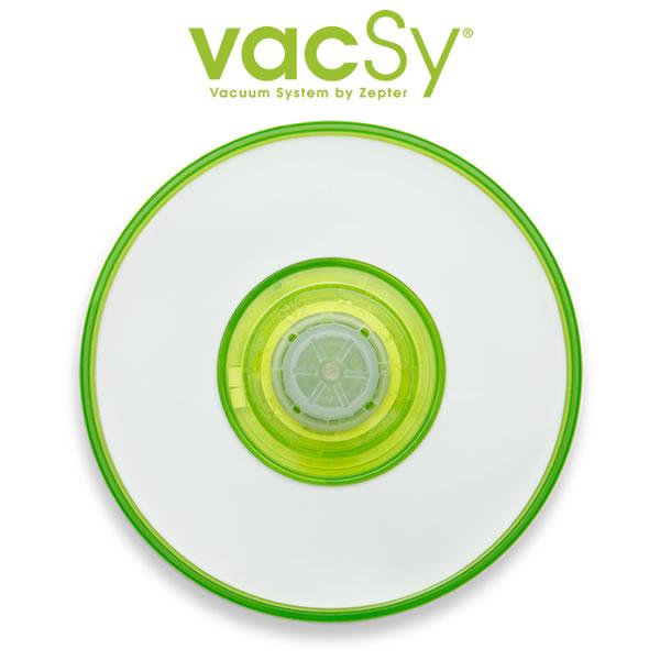 Vacsy universeel deksel – 8 tot 16 cm vacuum deksel