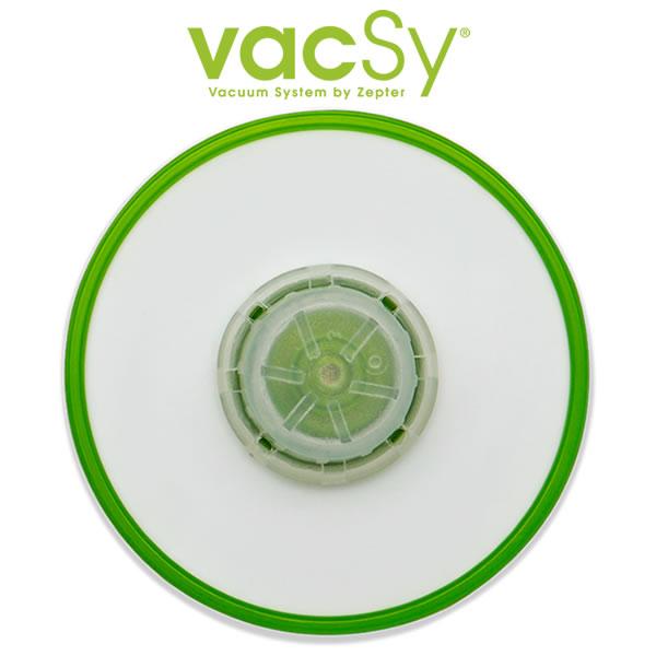 Vacsy universeel deksel - 4 tot 8 cm diameter onderkant