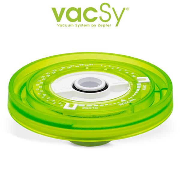 Vacsy universeel deksel - 4 tot 8 cm diameter